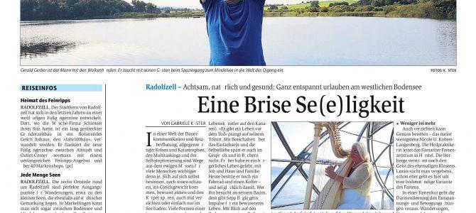 """Pressereise """"Achtsam und gesund am Untersee"""""""